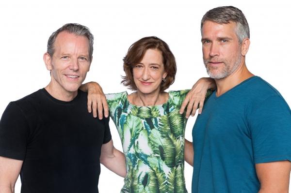 Stephen Bogardus, Haydn Gwynne and Mike McGowan