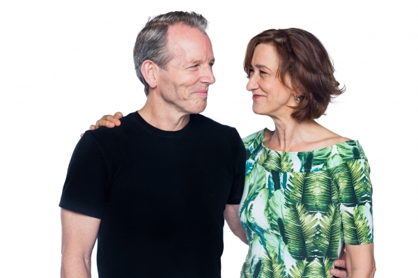 Stephen Bogardus and Haydn Gwynne