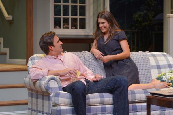 Michael Astor (Jason Kuykendall) is cornered by the flirtatious Susie Keegan (Rosie H Photo