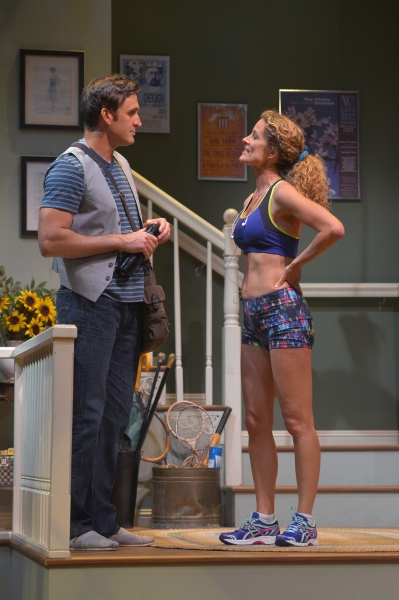 Michael Astor (Jason Kuykendall) meets Nell McNally (Marcia Pizzo)