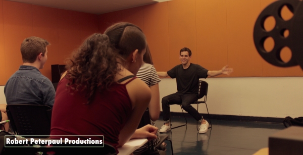 Photo Flash: CURIOUS INCIDENT's Taylor Trensch Teaches Acting Class in NYC
