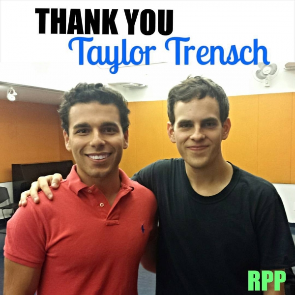 Robert Peterpaul and Taylor Trensch