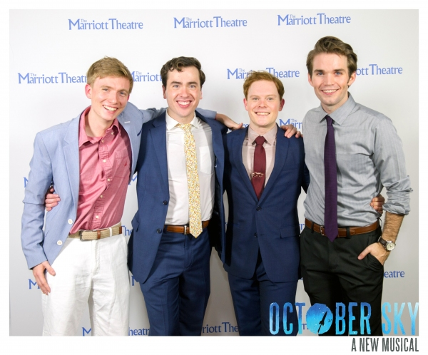 Ben Barker, Nate Lewellyn, Alex Weisman and Patrick Rooney