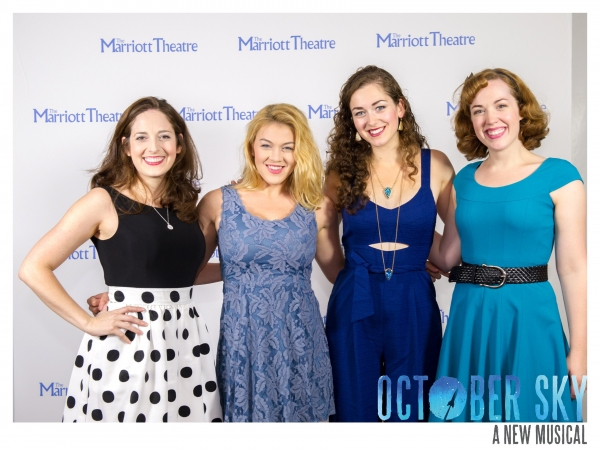 Photo Flash: OCTOBER SKY Celebrates Opening Night at The Marriott