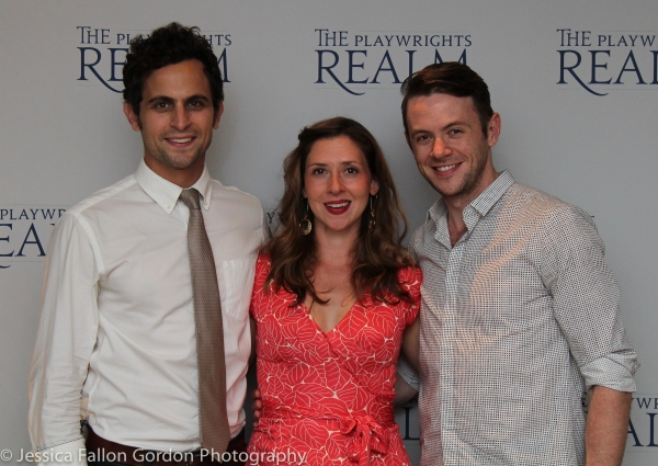 Matt Dellapina, Miriam Silverman and Nick Westrate