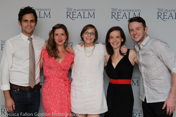 Matt Dellapina, Miriam Silverman, Anna Ziegler, Margot Bordelon and Nick Westrate