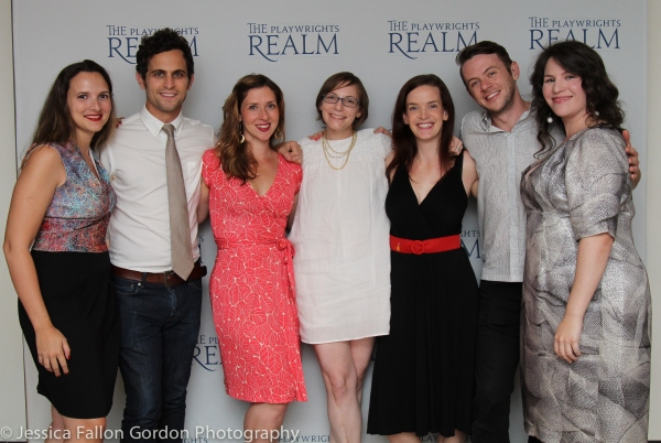 Roberta Pereira, Matt Dellapina, Miriam Silverman, Anna Ziegler, Margot Bordelon, Nick Westrate and Katherine Kovner