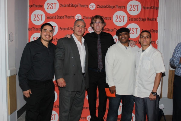 Jeffrey Rivera, Rick Norat, Dick Scanlan, Andre Christopher Kelly and Felix Machado