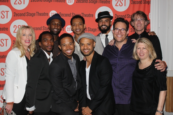 Sherie Rene Scott, Daniel J. Watts, Donald Webber Jr., Chris Myers, Derrick Baskin, Ryan Quinn, Nick Christopher, Michael Mayer, Dick Scanlan and Carol Rothman