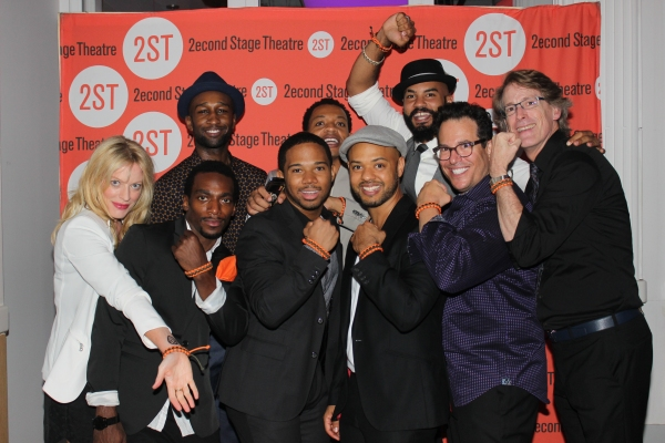 Sherie Rene Scott, Daniel J. Watts, Donald Webber Jr., Chris Myers, Derrick Baskin, R Photo