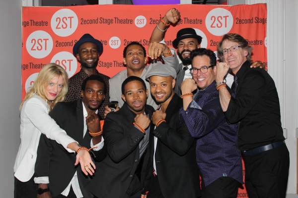 Sherie Rene Scott, Daniel J. Watts, Donald Webber Jr., Chris Myers, Derrick Baskin, Ryan Quinn, Nick Christopher, Michael Mayer and Dick Scanlan