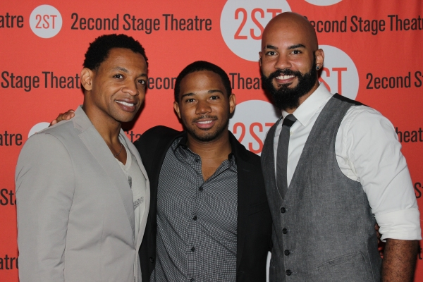 Derrick Baskin, Chris Myers and Nick Christopher