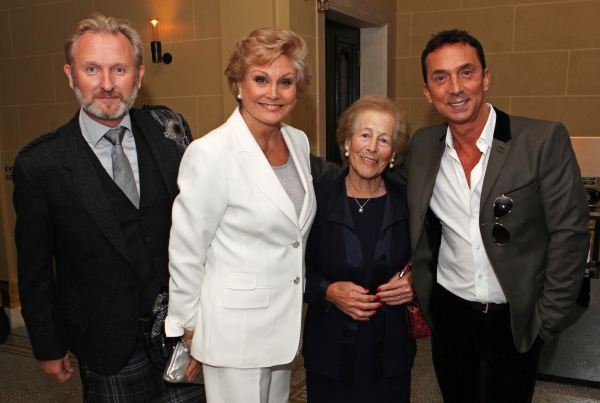 Julian Stoneman, Angela Rippon, Diana Gladys Tonna and Bruno Tonioli