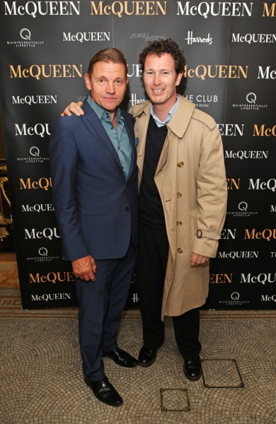 Photo Flash: First Look at Opening Night of West End's McQUEEN - Stephen Wight, Carly Bawden, Gary James McQueen and More!