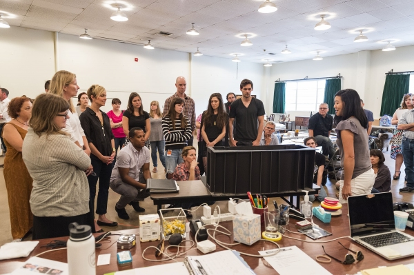 Photo Flash In Rehearsal With Branden Jacobs Jenkins APPROPRIATE At Mark Taper Forum