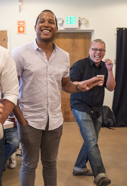Branden Jacobs-Jenkins and Eric Ting