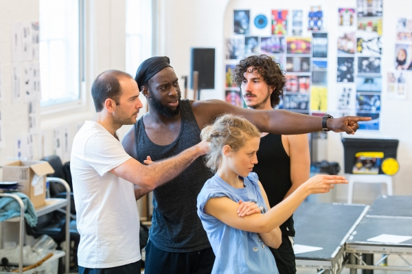 Photo Flash: In Rehearsal for BRAVE NEW WORLD, Opening in Northampton Next Week