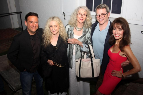 Photo Flash: Matthew Broderick, Blythe Danner and More in SHARPIES Reading at Guild Hall