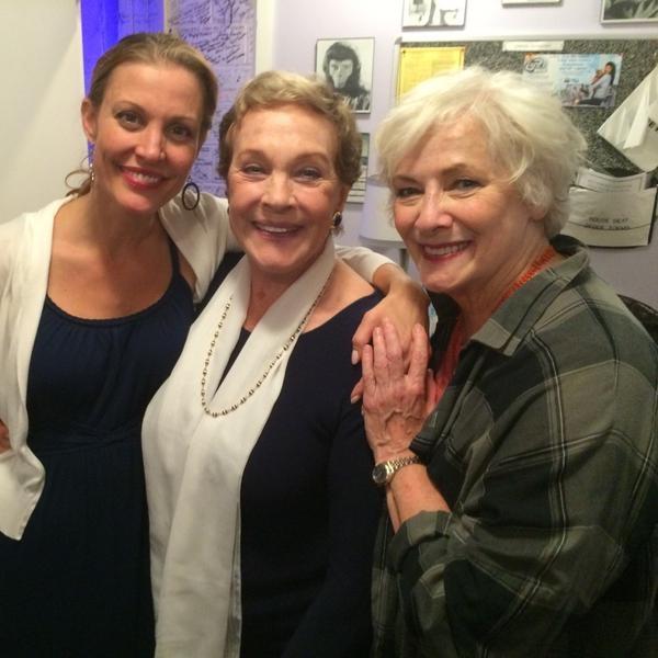 Rachel York, Julie Andrews, Betty Buckley