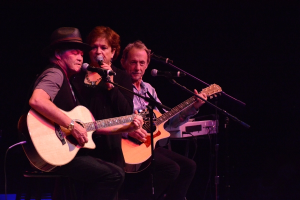 Micky Dolenz, Coco Dolenz and Peter Tork Photo