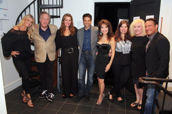 Christie Brinkley, Alan Zweibel, Brooke Shields, Ralph Macchio, Susan Lucci, Dayle Re Photo
