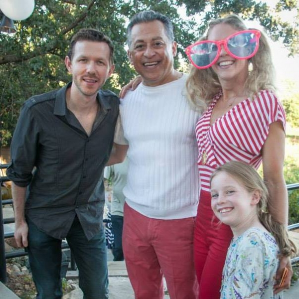 Stephan Stubbins, Manuel Merjil, Shannon O'Bryan, and Grace Anne Doyle Photo