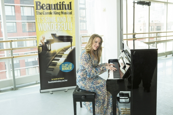 Photo Coverage: BEAUTIFUL Cast Gets Ready to Hit the Road; National Tour Launches from Providence Later This Month!