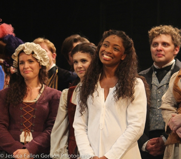 Montego Glover and the cast