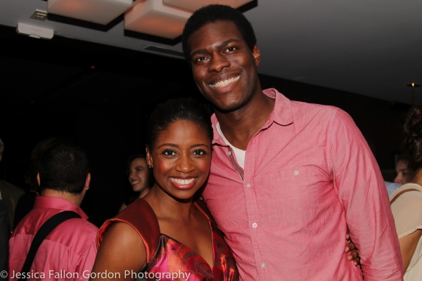 Montego Glover and Kyle Scatliffe