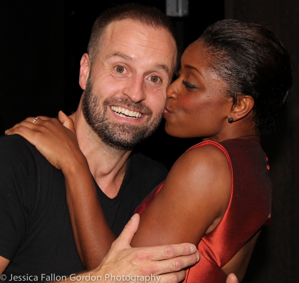 Alfie Boe and Montego Glover