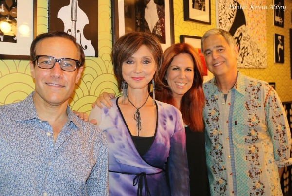 Jim Brickman, Pam Tillis, Victoria Shaw and Jim Photoglo