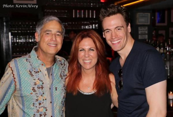 Jim Photoglo, Victoria Shaw and Erich Bergen
