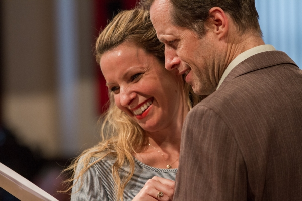 Kate Arrington and Tim Hopper