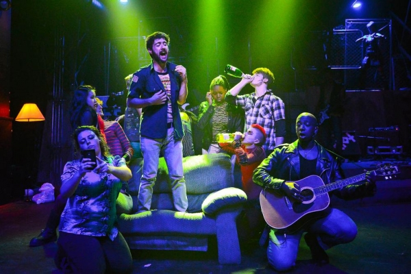 Photo Flash: First Look at The Hypocrites' AMERICAN IDIOT at The Den Theatre