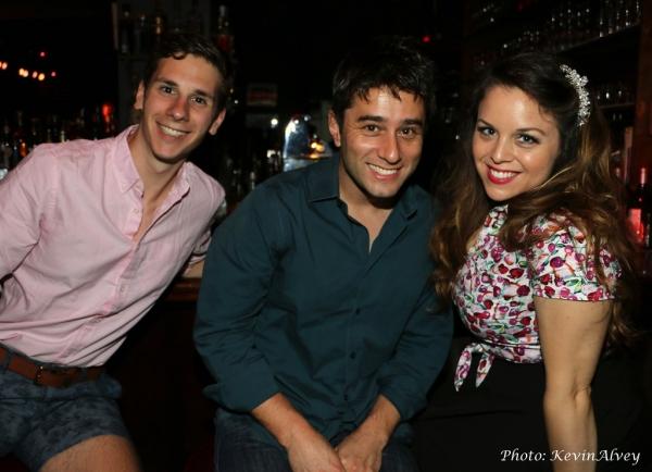 Eric Dietz, Matt Baker and Molly Ryan