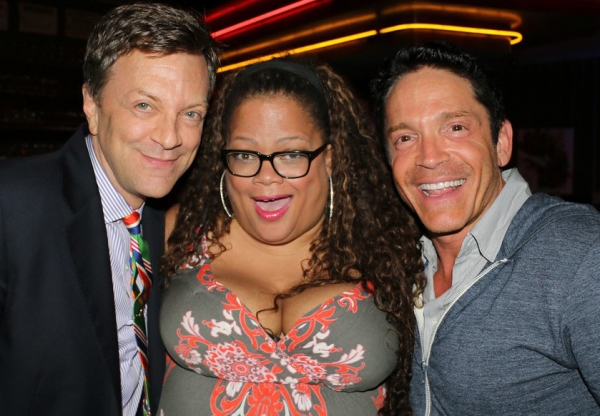 Jim Caruso, Natalie Douglas and Dave Koz