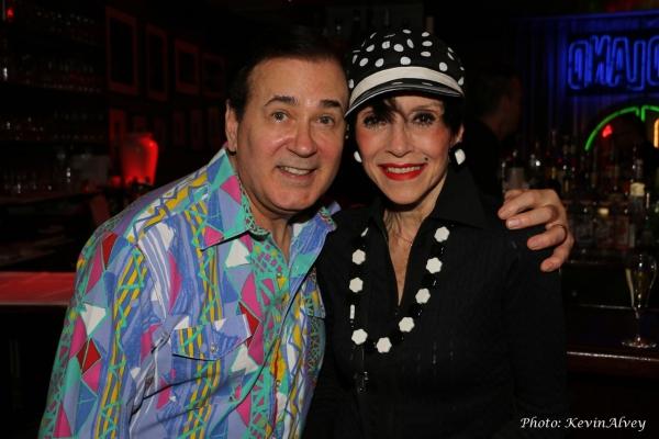 Lee Roy Reams and Liliane Montevecchi