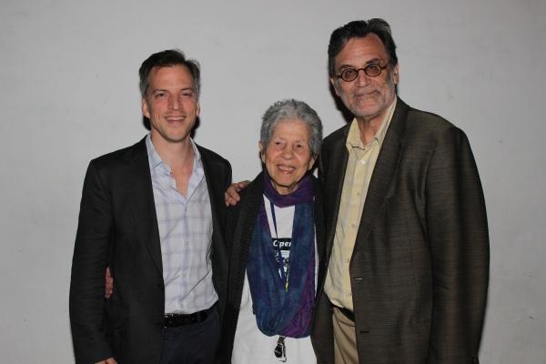 David Elliott, Joan Beber and Martin Platt