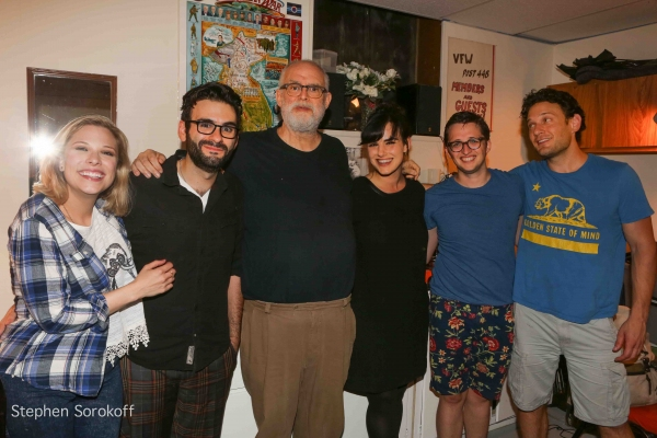 Lauren Marcus, Joe Iconis, William Finn, Molly Hager, Will Roland, Eric William Morris