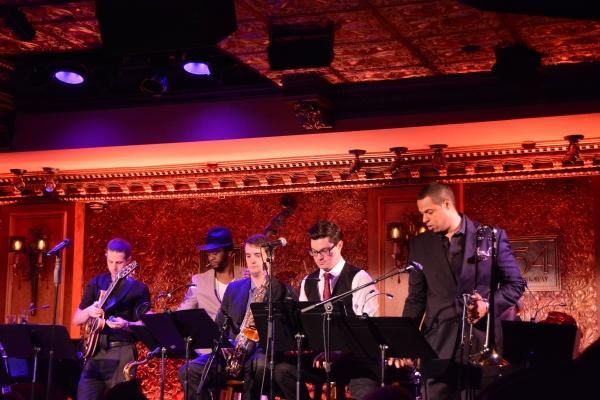David Roenthal, Ben Williams, Adam Rongo, Tatum Greenblatt and James Burton
