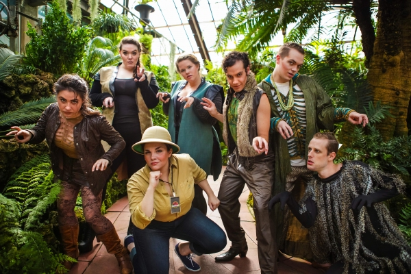 Photo Flash: Meet the Cast of Circle Theatre's Chicago Premiere of TRIASSIC PARQ