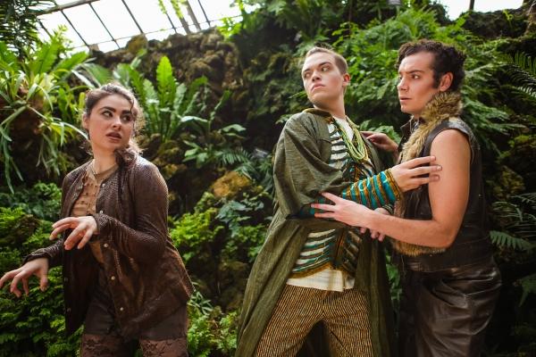 Marissa Druzbanski, Jacob Richard Axelson and Parker Guidry Photo