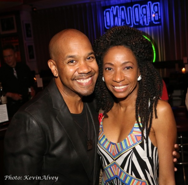 Darius de Haas and Adriane Lennox