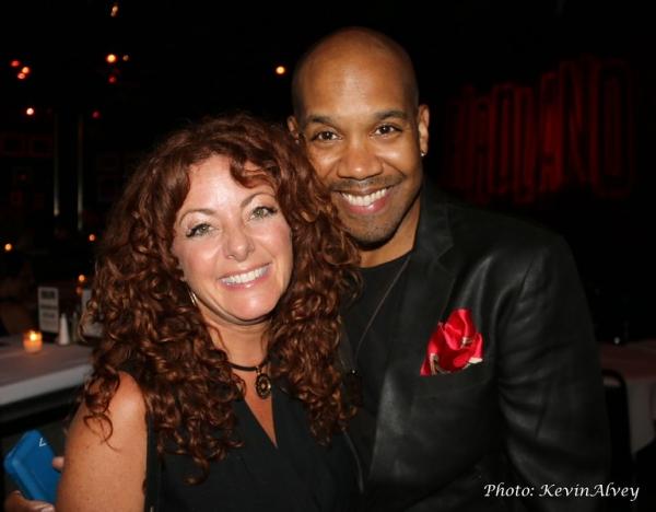 Kelli Rabke and Darius de Haas