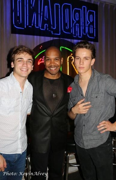 Sean Grandillo, Darius de Haas and Austin McKenzie