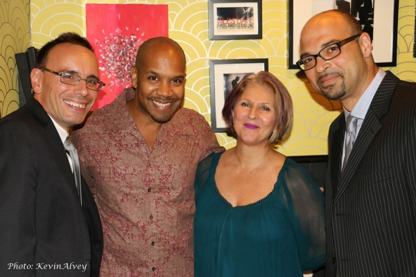 Tedd Firth, Darius de Haas, Janis Siegel and George Farmer