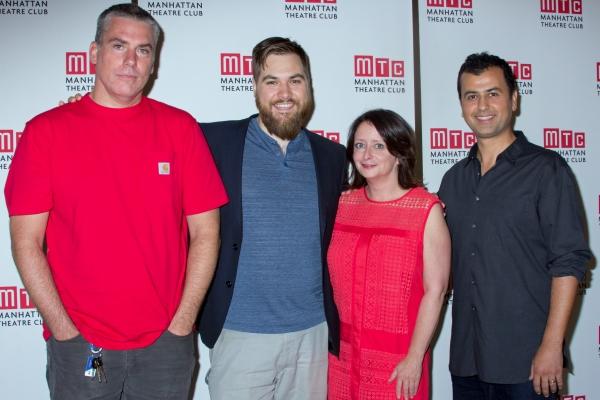 Glenn Fitzgerald, Nate Miller, Rachel Dratch, Daoud Heidami
