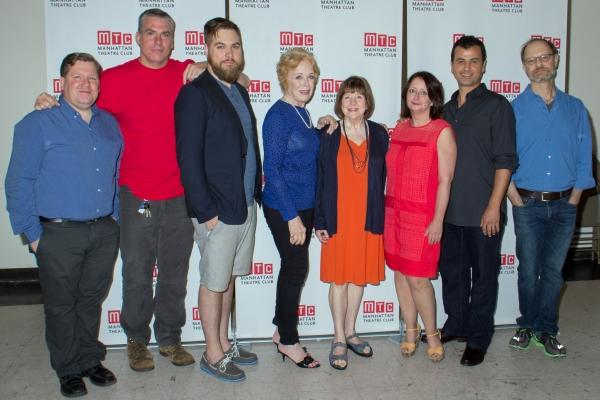 David Lindsay-Abaire, Glenn Fitzgerald, Nate Miller, Holland Taylor, Marylouise Burke Photo