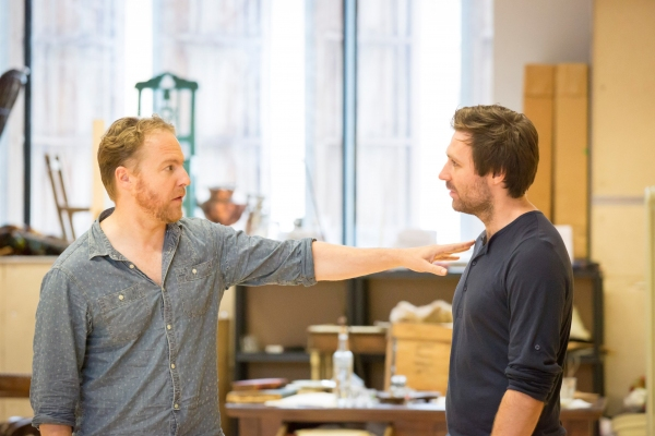 Samuel West and James McArdle