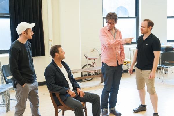 Chris Perfetti, Clarke Thorell, director James Macdonald, Sean Dugan